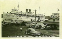 Cruise ships in days gone by